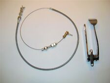 Street Rat Rod Spoon Gas Throttle Pedal With Bonus Cable