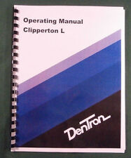 Dentron Clipperton-L Instruction Manual - Comb bound with protective covers!