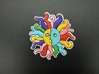 parche sol de colores patch sun colours decoracion hippie bonito planchar iron s