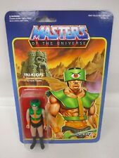 "2016 SUPER 7 MOTU MASTERS OF UNIVERSE TRI KLOPS 3.75"" REACTION FIGURE WAVE 2 MOC"