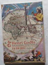 Catalogue de vente de la Librairie Henri Godts – 16.10.2012