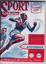 1954 SPORT selection n°24 LES SPRINGBOKS SKI COHEN BASKET RUGBY FOOTBALL