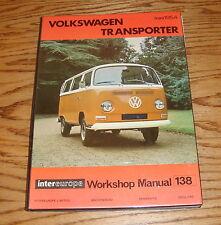 1954-1963 Volkswagen VW Transporter Workshop Shop Service Manual #138