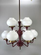 70er Jahre Lampe Leuchte Deckenlampe Kronleuchter Kugellampe Space Age Design