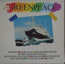 LP Various Greenpeace Club Edition, OIS, VG + +, cleaned, Heaven 17, Depeche Mode...