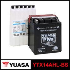 BATTERIA [YUASA] YTX14AHL-BS (12 VOLT / 12 AMPERE) SIGILLATA+ACIDO
