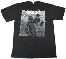 METALLICA And Justice For All T-shirt Heavy Metal Tee Adult Men Black New