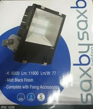 FLOODLIGHT LED Saxby Stark IP65 150W Daylight White Die-Cast Alu Alloy 11600Lmns
