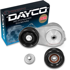 Dayco Drive Belt Tensioner Assembly for 2003-2013 Acura MDX 3.7L V6 Engine qy