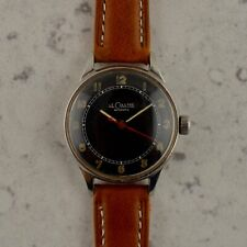 C.1945 Vintage LeCoultre Automatic Military bumper watch cal. 12A in steel