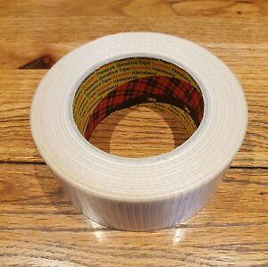 3M Scotch® Bi-Directional Filament Tape 8959, Cross Wave, Reinforced 50mm x 50m