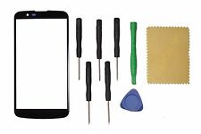 Black  Front Screen Glass Lens Replacement for  LG K10 K430 + Tools