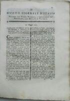 1795 RIVISTA SULLA CONSERVAZIONE DEL VINO DELLA DALMAZIA. ENOLOGIA. TOCAI