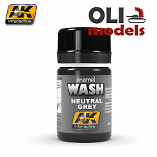 Weathering WASH NEUTRAL GREY Enamel 35ml - AK Interactive 677
