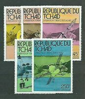 Tchad - Mail Yvert 310/1 + A.176/8 MNH Astro