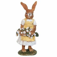 Clayre & Eef Easter Decoration Easter Bunny Nostalgia Shabby Rabbit 12cm Easter