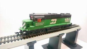 Lionel HO Train Burlington Northern EMD GP30 Lighted Dummy Diesel Locomotive