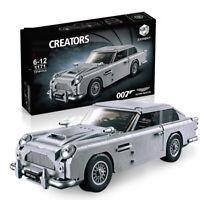 LEGO TECHNIC MEGA BLOKS CREATOR COMPATIBIL100 % ☆ ASTON MARTIN Db5 james Bond ☆