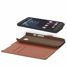 Synthetic Leather Card Pocket Wallet Cases for Motorola Mobile Phones