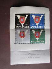 Circulo Filatelico de Vendrell 5th Anniversary 1955 - 4 poster stamps - MNH