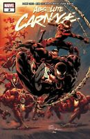 Absolute Carnage #2 MARVEL COMICS COVER A 1ST PRINT CATES MARTIN  NM