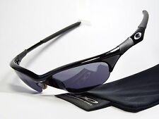 OAKLEY HALF JACKET BLACK SONNENBRILLE X FLAK SPLIT EYE FAST STRAIGHT QUARTER WHY