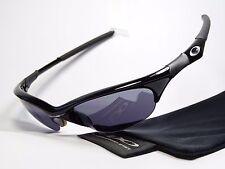 Oakley Half Jacket Black Lunettes de soleil X Flak SPLIT EYE presque Straight Quarter Why