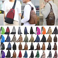 Men Sling Bags Chest Pack Travel Backpack Messenger Shoulder Cross Body Hiking
