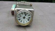 Ancien charmant petit réveil mécanique à ancre système ROSKOPH à restaurer