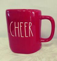 Brand New Rae Dunn CHEER Red Mug 2019 New