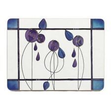 Imaje Set of 4 Floral Midnight Placemats