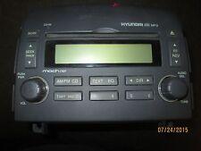 06-08 HYUNDAI SONATA RADIO CD MP3 PLAYER #96180-0A-100FZ XX-1145 *See item*