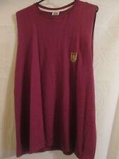Aston Villa Leisure Sleevelees Football T Shirt Size Small /14741