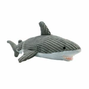 "Tall Tails Plush Crunchy SHARK 13"" Dog Toy"