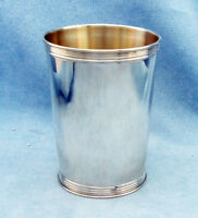"Vintage Solid Sterling Silver Derby Mint Julep Cup - Marked ""Sterling"", No Mono"
