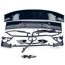 Body Sheel Rear Spoiler For 1/10 RC Car Tail Wing Side Mirror 025008BK Black