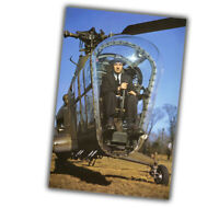 """War Photo 1945 Sikorsky H-5 В helicopter Glossy """"4 x 6"""" inch V"""