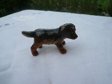 Alter antiker Hund aus Porzellan Goebel Original Germany Welpe glasiert Doggo