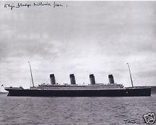 MILLVINA DEAN SIGNED RMS TITANIC 8x10 PHOTO 7 - UACC & AFTAL RD AUTOGRAPH