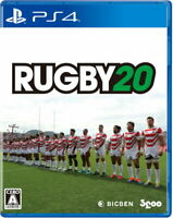 RUGBY 20 Sony Playstation 4 PS4 Video Games From Japan F/S Tracking NEW