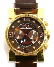 I.T.A Italia Tecnica Artigiana B.ComPax 00.05.04 Chronograph gold PVD watch