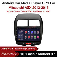 "10.1"" Android 9.1 Car Stereo Media Player GPS Head Unit For Mitsubishi ASX 13-15"
