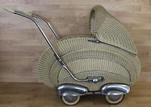 Kinderwagen antik Korbkinderwagen Korb 30er 40er 50er Jahre ?? Art Deco