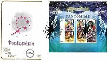 GB 2008 CHRISTMAS MINIATURE SHEET COTSWOLD OFFICIAL FDC