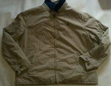 Polo Ralph Lauren RRL Landon Classic Khaki Windbreaker Jacket XXL