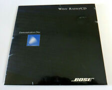 Bose Wave Radio CD Demonstration Disc ~ New Sealed ~ Rare