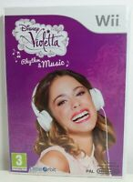 Disney Violetta Nintendo Wii Game Mint Condition Complete PAL UK Fast Free P&P