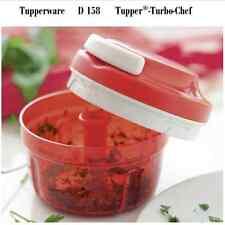 Tupperware D 158 Tupper - Turbo-Chef _ Zerkleiner _ Rot