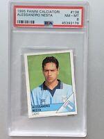Alessandro Nesta 1995 Panini Calciatori #138 Lazio Rookie RC PSA 8