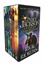 Percy Jackson Ultimate Collection by Rick Riordan [Box Set]
